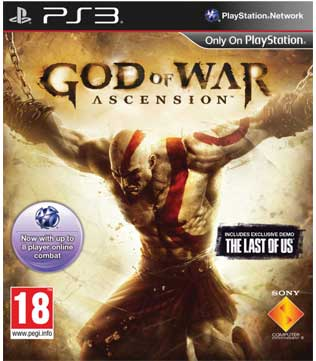 Buy god of war ascension ps3 pre owned gameloot god of war ascension ps3 voltagebd Choice Image