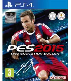 PS4-Pro Evolution Soccer 2015