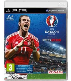 PS3-UEFA EURO 2016 Pro Evolution Soccer