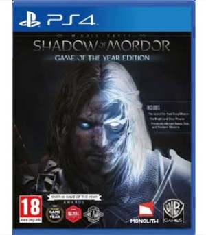 PS4-Middle Earth Shadow of Mordor - Game of the Year Edition