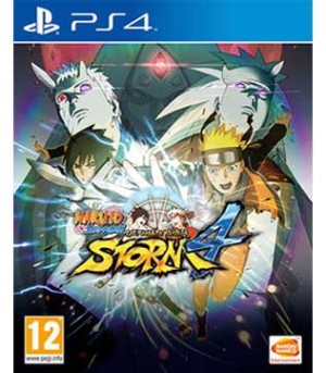 PS4-Naruto Shippuden Ultimate Ninja Storm 4