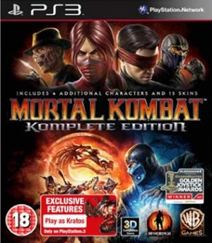 PS3-Mortal Kombat Komplete Edition