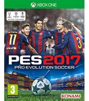Xbox One-Pro Evolution Soccer 2017