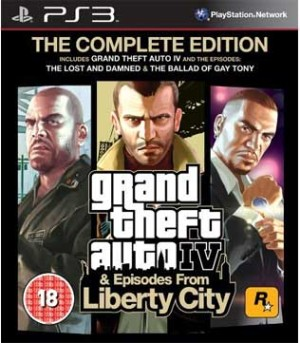 PS3-Grand Theft Auto IV & Episodes from Liberty City