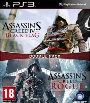 PS3-Assassins Creed Double Pack Black Flag & Rogue