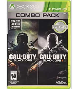 Xbox 360-Call of Duty Black Ops 1 & 2 Combo Pack