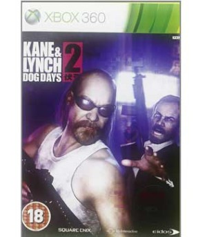 Kane and Lynch 2 Dog Days Xbox 360
