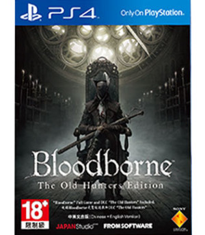 PS4-Bloodborne The Old Hunters Edition