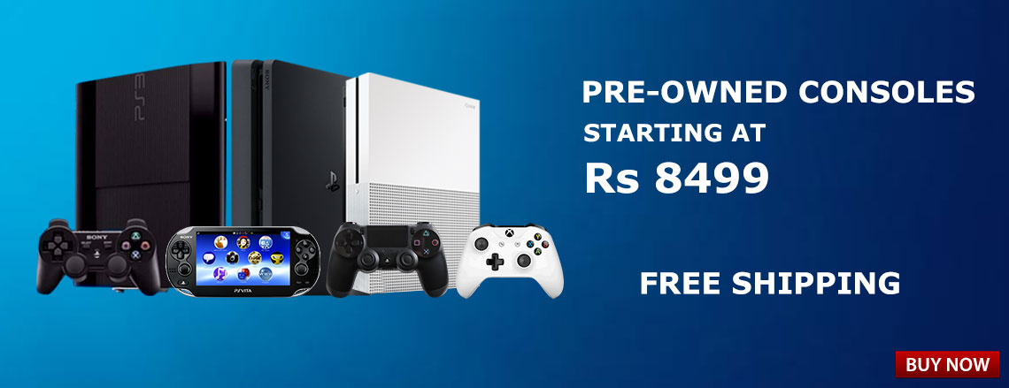 Pre-owned Consoles