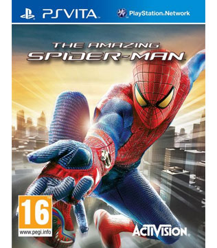 PS-Vita-The-Amazing-Spider-Man (without-Original-Box-&-Cover)