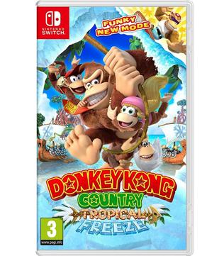 Nintendo Switch-Donkey Kong Country Tropical Freeze