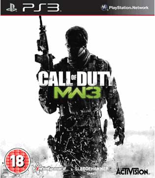 Call-of-Duty-Modern-Warfare 3 PS3