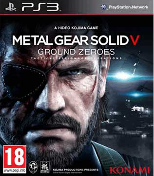 Metal Gear Solid V Ground Zeroes PS3