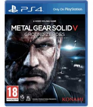 Metal Gear Solid V- Ground Zeroes PS4