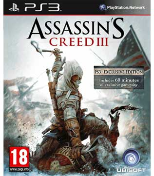 Buy Assassin S Creed Iii Ps3 Pre Owned Gameloot