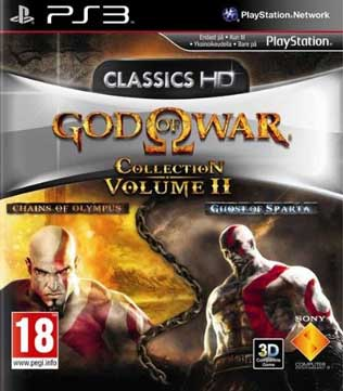 God of War Collection Volume II PS3 (Pre-owned)