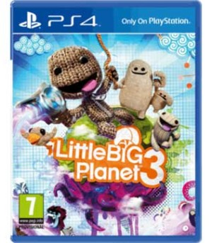 Little Big Planet 3 PS4 (Pre-owned)