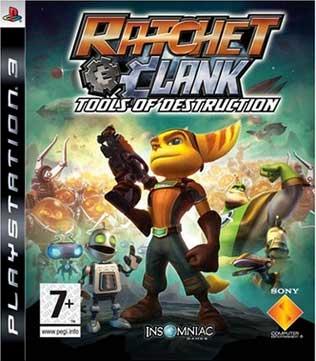 PS3-Ratchet & Clank: Tools of Destruction