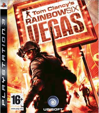 PS3-Tom Clancy's Rainbow Six Vegas