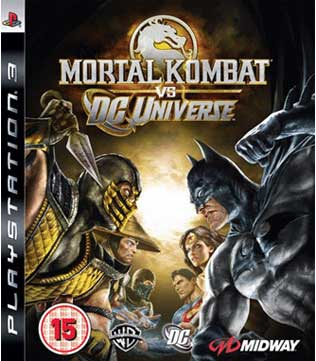 PS3-Mortal Kombat vs DC Universe