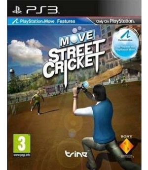 PS3-Move Street Cricket