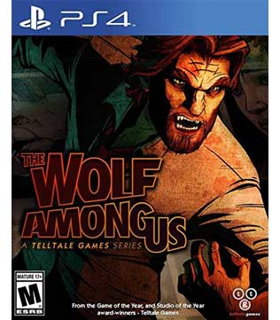 PS4-The Wolf Among Us