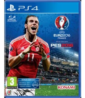 PS4-UEFA EURO 2016 Pro Evolution Soccer