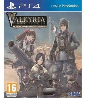 PS4-Valkyria Chronicles Remastered