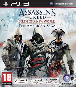 PS3-Assassin's Creed: The American Saga