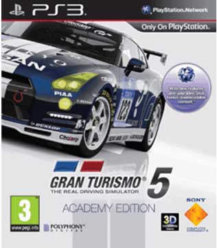 PS3-Gran Turismo 5 Academy Edition