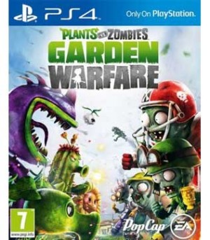 PS4-Plants Vs Zombies Garden Warfare