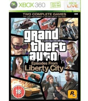 Xbox 360-Grand Theft Auto Episodes From Liberty City