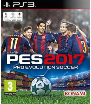 PS3-Pro Evolution Soccer 2017