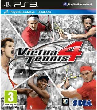 PS3-Virtua Tennis 4