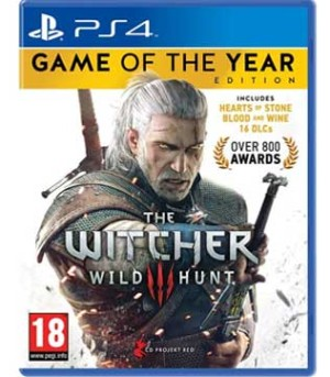 PS4-The Witcher 3: Wild Hunt Game of the Year Edition