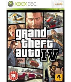 Xbox 360-Grand Theft Auto IV