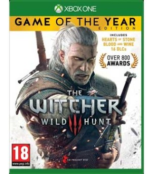Xbox One-The Witcher 3: Wild Hunt Game of the Year Edition