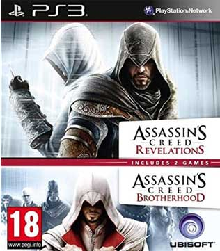 Buy Assassins Creed Revelations Brotherhood Ps3 Pre Owned