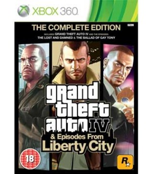 Xbox 360-Grand Theft Auto IV & Episodes from Liberty City