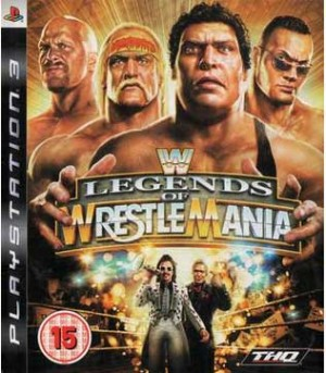 PS3-WWE Legends of Wrestlemania