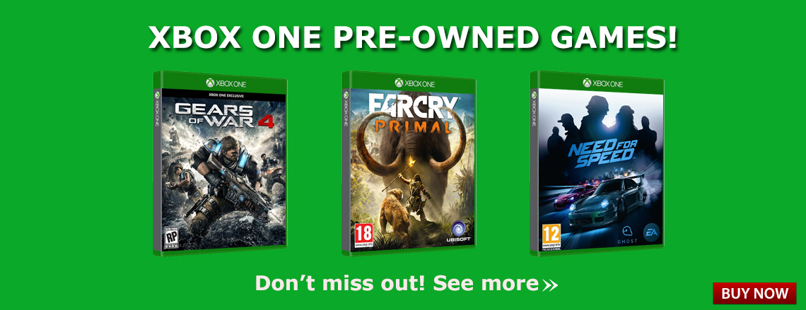 Xbox One Pre-owned Games