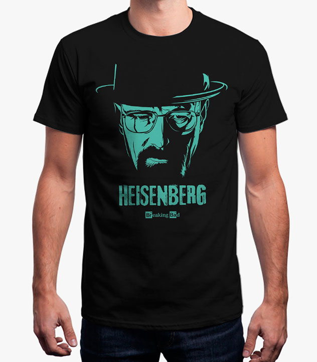 buy mr white official breaking bad t shirt gameloot. Black Bedroom Furniture Sets. Home Design Ideas