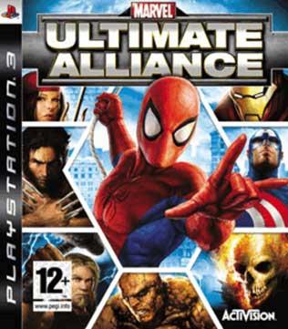 PS3-Marvel Ultimate Alliance