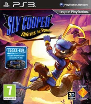 PS3-Sly Cooper Thieves In Time