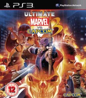 PS3-Ultimate Marvel Vs Capcom 3