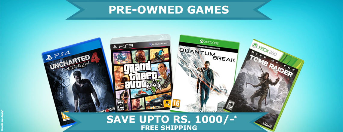 Pre-Owned Games