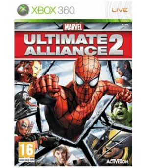 Xbox 360-Marvel Ultimate Alliance