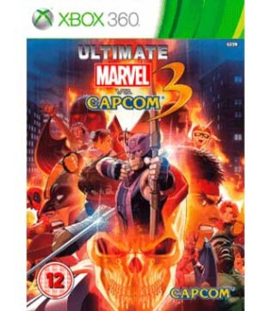 Xbox 360-Ultimate Marvel Vs Capcom 3