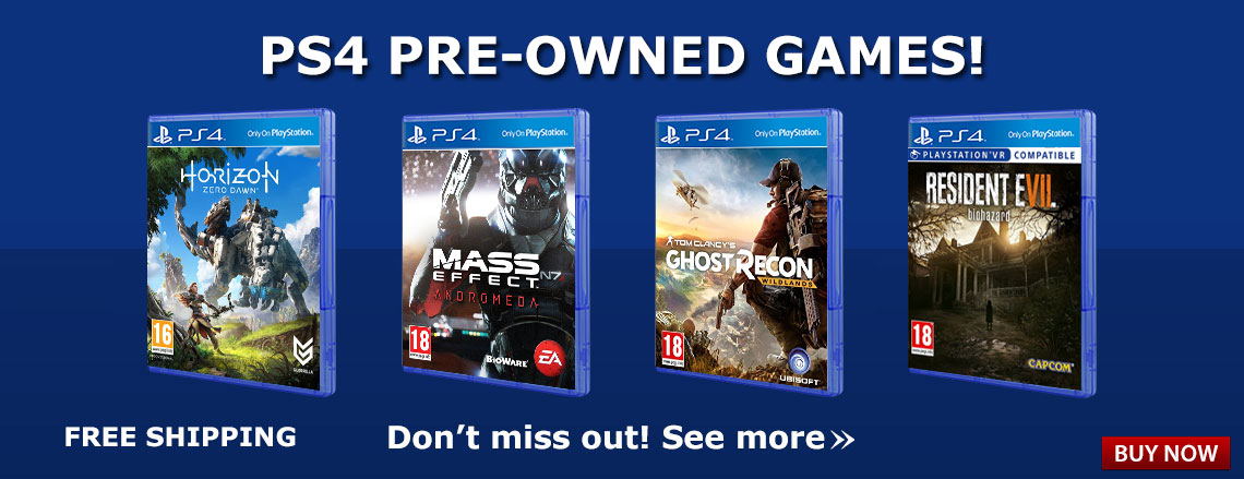 PS4 Pre-owned Games