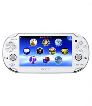 PS Vita-Sony PS Vita White (Wi-Fi) with 32GB Memory Card